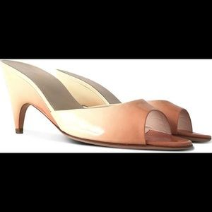 Prada Patent Leather Ombré Mules